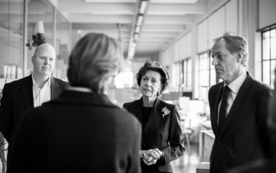 Neelie Kroes op de lunch
