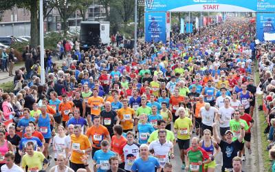 Rennen naar het toilet tijdens de marathon van Eindhoven