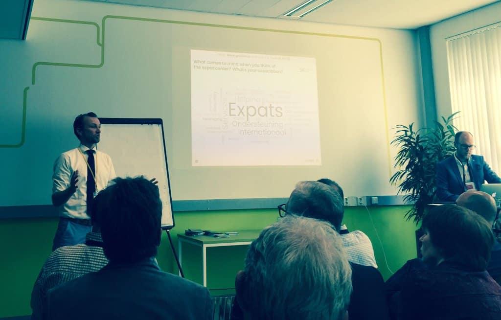 Interactieve presentaties met Expat Center