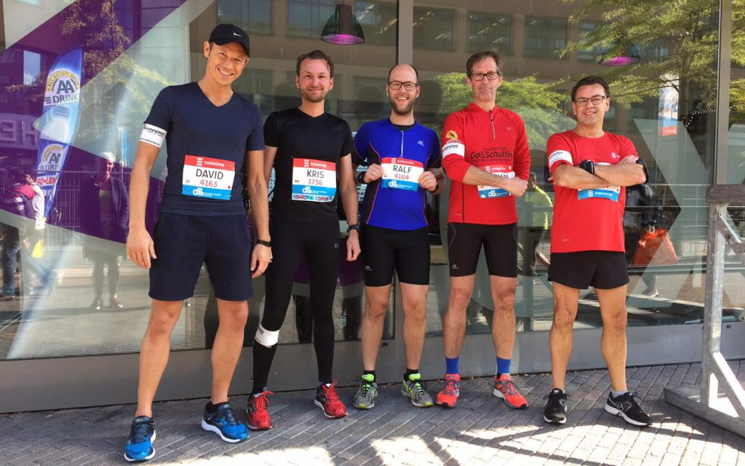 Halve marathon als de Bliqsem