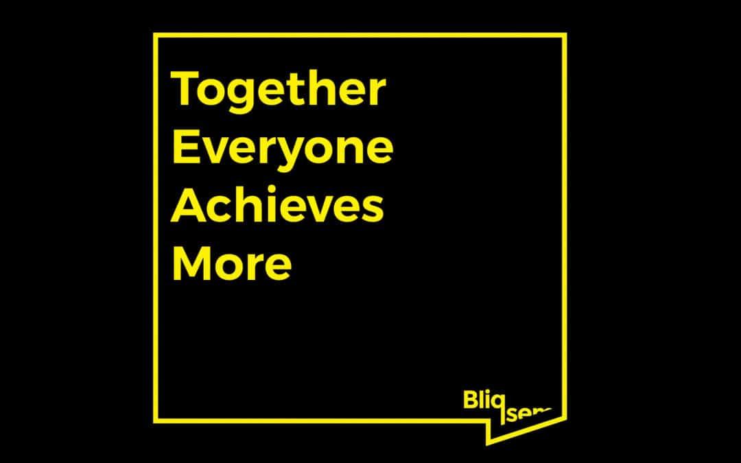 Teambuilding als de Bliqsem