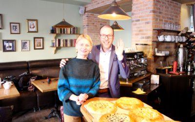 Bliqsems inspirerend bezoek Kiev