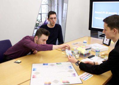Bliqsem teamtraining teambuilding activiteit WeQu