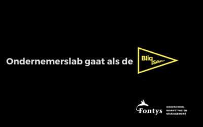 Bliqsem inspireert jonge ondernemers ondernemerslab Fontys