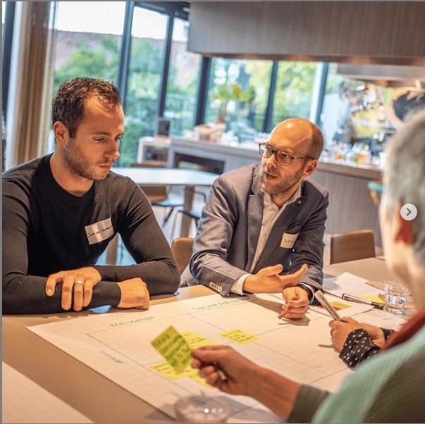 Sessie 'van idee naar projectplan' voor Rabobank Dommelstreek in Geldrop