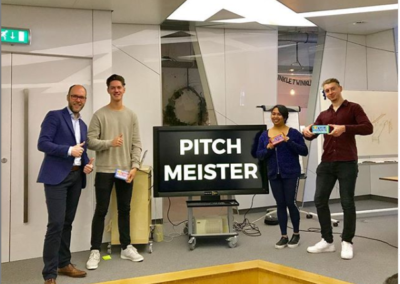 Jaarlijkse pitchtrainingen voor Fontys International Business