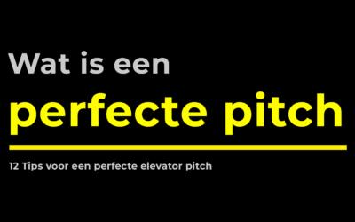12 tips voor een perfecte elevator pitch