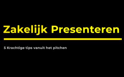 Zakelijk presenteren: 5 krachtige tips vanuit het pitchen