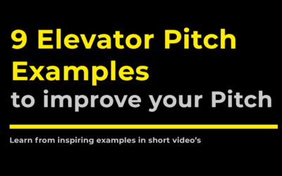 9 elevator pitch examples to improve your pitch